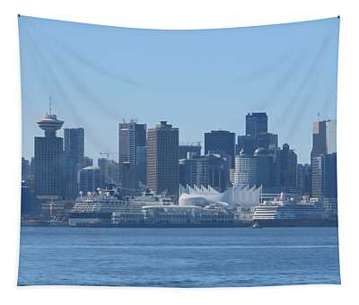 Downtown View From North Vancouver Tapestry