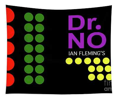 Dr. No, Ian Flemming, James Bond, Opening Film Sequence Tapestry