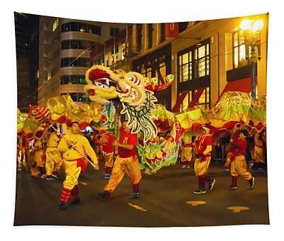 Dragon Dance Tapestry