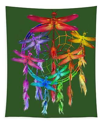 Dragonfly Dreams Tapestry