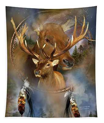 Dream Catcher - Spirit Of The Elk Tapestry