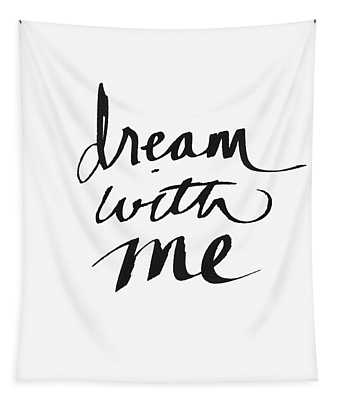Dream With Me- Art By Linda Woods Tapestry
