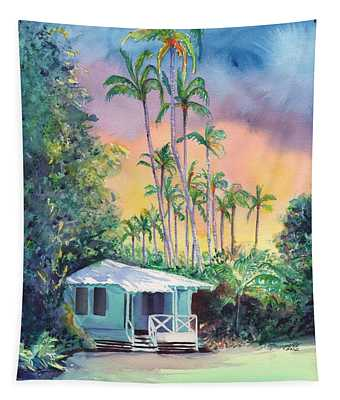 Dreams Of Kauai Tapestry