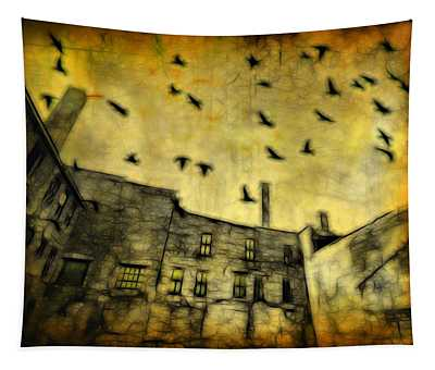 Dreary Sky Looms Above Tapestry