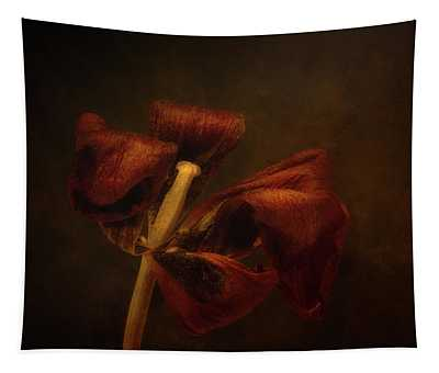 Dried Tulip Blossom 2 Tapestry