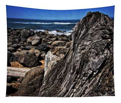 Driftwood Rocks Water Tapestry