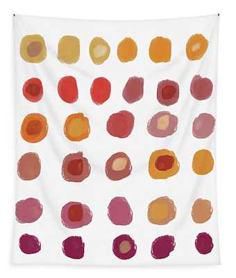 Drops Of Fall Color- Art By Linda Woods Tapestry