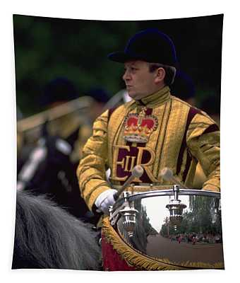 Drum Horse At Trooping The Colour Tapestry