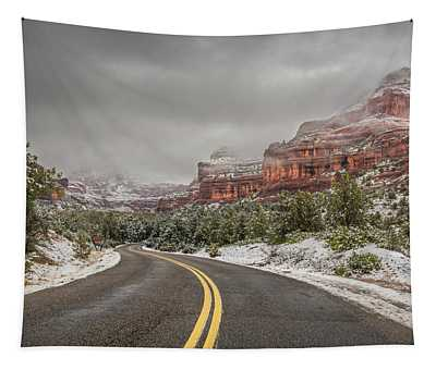 Boynton Canyon Road Tapestry