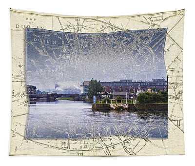 Dublin Docks Tapestry