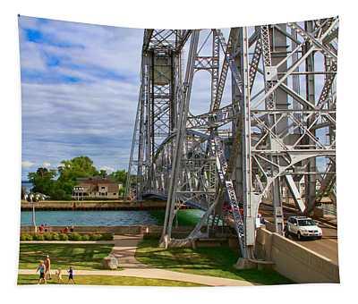 Duluth Aerial Lift Bridge Tapestry