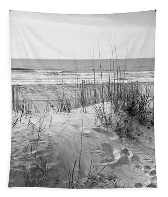 Dune - Black And White Tapestry