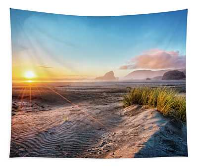 Dunes On The Pacific Coastline Tapestry