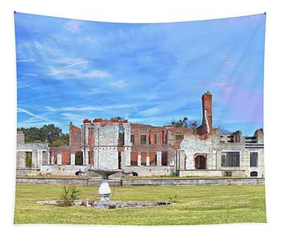 Dungeness Ruins Tapestry