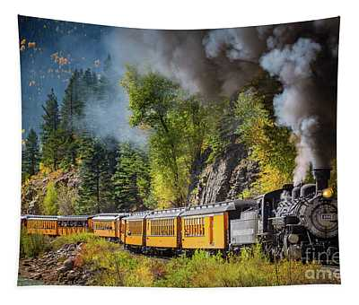 Durango-silverton Narrow Gauge Railroad Tapestry