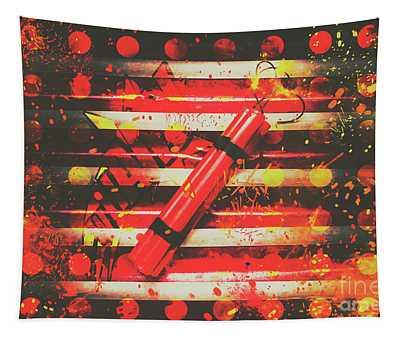 Dynamite Artwork Tapestry