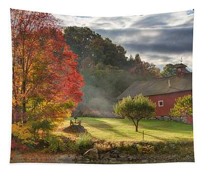 Early Autumn Morning Tapestry