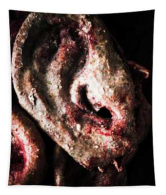 Ears And Meat Hooks  Tapestry