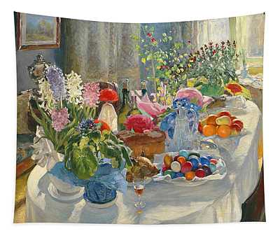 Easter Table Tapestry