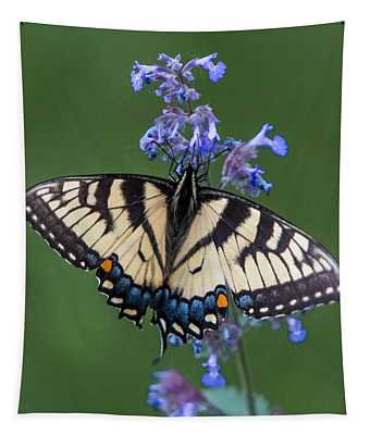 Eastern Tiger Swallowtail Wingspan Tapestry