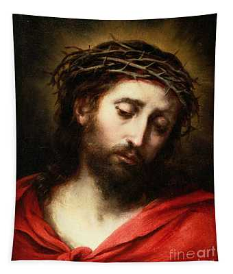 Ecce Homo, Or Suffering Christ Tapestry