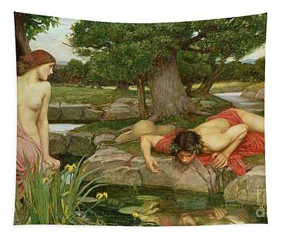 Echo And Narcissus Tapestry