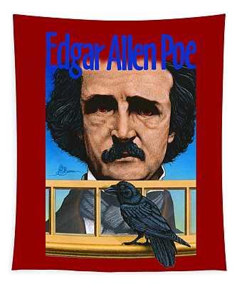 Edgar Allen Poe Shirt Tapestry