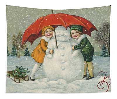 Edwardian Christmas Card Tapestry