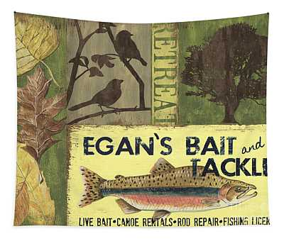 Egan's Bait And Tackle Lodge Tapestry