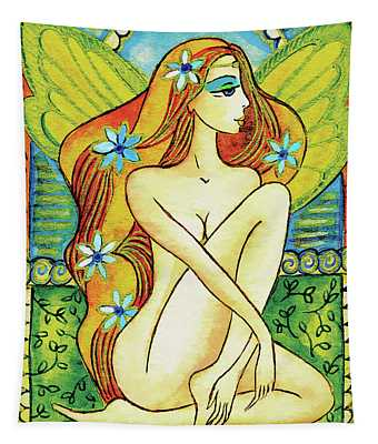 Egyptian Fairy I Tapestry