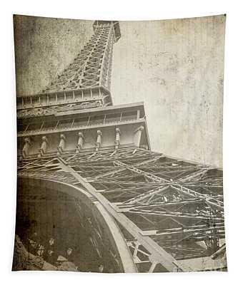 Eiffel Tower Paris Rough Tapestry