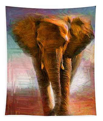 Elephant 1 Tapestry