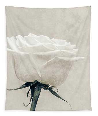 Elegance In White Tapestry