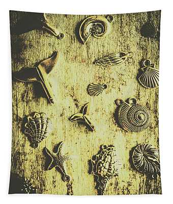 Elemental Marine Decorations Tapestry