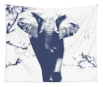 Elephant 3 Tapestry