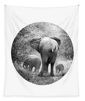 Elephants Tapestry