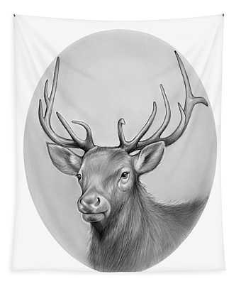 Elk Tapestry