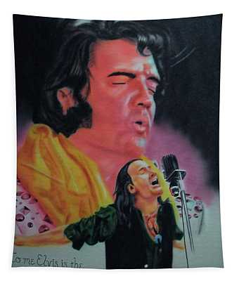 Elvis And Jon Tapestry