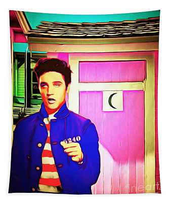 Elvis Has Left The House 20151225 Tapestry