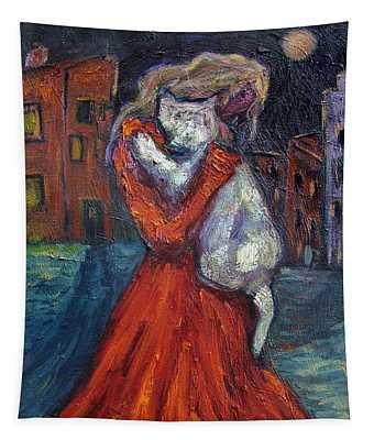 Embrace I Tapestry