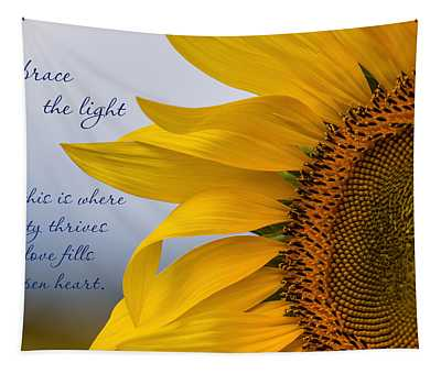 Embrace The Light Tapestry