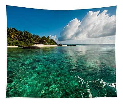 Emerald Purity. Maldives Tapestry