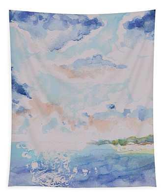 Emerging Sun 2 Tapestry
