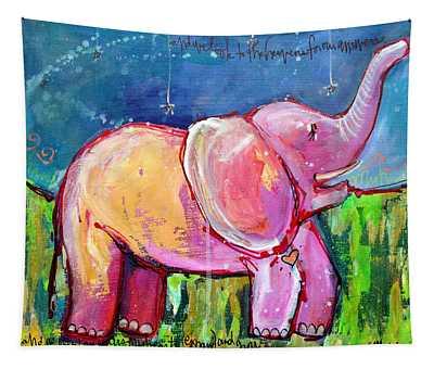 Emily's Elephant 2 Tapestry