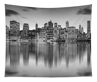 Enchanted City Tapestry