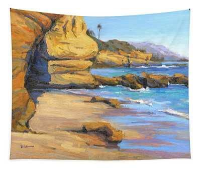 End Of Summer / Laguna Beach Tapestry