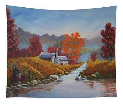 English Countryside Tapestry