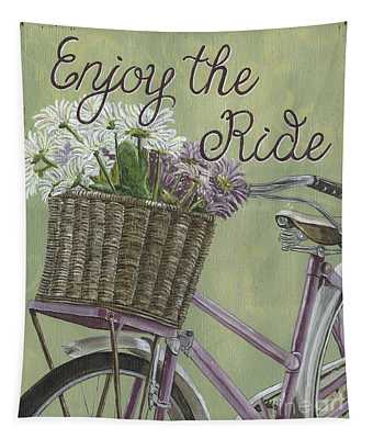 Enjoy The Ride Tapestry