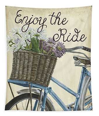 Enjoy The Ride Vintage Tapestry