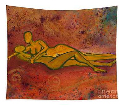 Enthralled Divine Love Series No. 1004 Tapestry